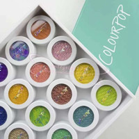 Wholesale colour pop cosmetics for sale - Group buy IN hours DHL shipping makeup colour pop Colourpop Blush Single Colourpop Eyeshadow Powder durable waterproof high pearlescent cosmetics