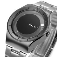 Wholesale Paidu Brand - New PAIDU Full Steel Men's Sports Quartz Watches Women Watches Luxury Brand Watches Lovers' Silver Wristwatches