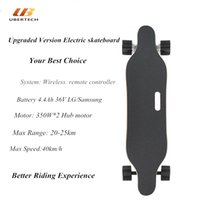 Wholesale Free Tax - 4 Wheels Electric Skateboard Fish Board Drift Hoverboard Skateboard Longboard Scooter 45Km H With Wireless Control 350WX2 Free Tax