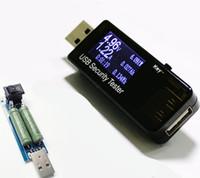 testador de usb venda por atacado-Nova chegada digital USB capacidade do carregador QC 2.0 voltímetro amperímetro tester tensão atual medidor de resistência 3v-30v + 1A 2A
