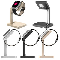 Wholesale Apple Keeper - Wholesale-Aluminum Charging Stand holder keeper Charger Stand Docking Station for Apple watch for i watch