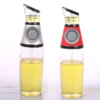 Wholesale Health Degrees - Controllable metering press type oiler,health olive oil bottle with degree scale,cooking oil glass bottle,Oil &vinegar Dispenser
