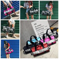 Wholesale Totes Shoulder Bag Men Hand - Women Casual Pink Bag Professional Shoulder Bag Large Capacity Men Hand Luggage Travel Duffle Bags Famous Brand tote KKA3156