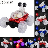 Wholesale Remote Control Stunt Car - Wholesale- HIINST MallToy 2017 New 360 Spin Fashion Stunt Car Music Remote Control LED Lights Rechargeable Drop Shipping Aug24