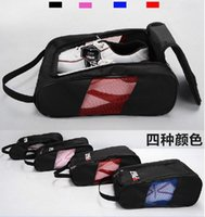 Wholesale Material Shoe Bags - 2016 golf shoes bags golf shoes package high-grade nylon material light and practical Brand New Golf Shoes Bags free shipping