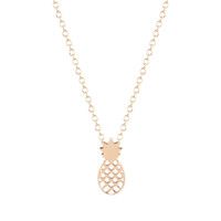 Wholesale Style Za - 10pcs lot New Style Pineapple Necklace Chocker Fruit Necklace For Women 2016 Pineapple Chocker Necklace ZA Collier Free Shipping