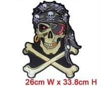 Wholesale Custom Motorcycle Coolers - biker motorcycle patches computer embroidered big size cool patcg iron on embroidery factory in china can be custom