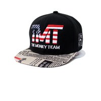 Wholesale Hiphop Hat Usa - USA American Flag Snapback Cap Adjustable United States Baseball Caps Hiphop Hat for Men and Women Top Ball Hats Sunhat
