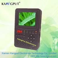 Wholesale Digital Sat Meter - Hot Sale satfinder meter dvb-s2 signal cable sat signal finder KPT968G
