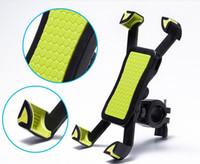 dağ bisikleti için telefon tutacağı toptan satış-Telefon Motosiklet Bisiklet Dağ bisikleti dağı Tutucu iPhone 7 6 6 s artı Standı 5 S galaxy not 5 6 7 J1 GPS bisiklet tutucu 3 renkler HDSZ002