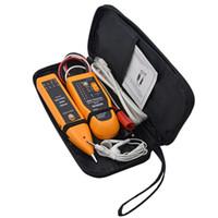 cable trazador rj45 al por mayor-Profesional WH806R Teléfono Teléfono Cable Rastreador LAN Cable de red Tester para UTP STP RJ45 RJ11 Buscador de línea Diagnosticar tono Tracer