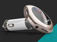 ingrosso altoparlante dell'automobile di marca del bluetooth-Mini Bluetooth Car Kit vivavoce per auto MP3 Trasmettitore FM Caricabatteria da auto USB Q7 bluetooth car kit altoparlante per iPhone smarpthones