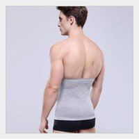 Wholesale Slimming Belt Body Sculpting - Men Stomach Shapers Slimming Belly Fitness Waist Belly Buster Shaper Belt Body Sculpting Slimming Belt Hot Sale