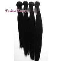 10-30Inches 100% Malásia Weave Cabelo Extensões Straight Natural Color Moda Cabelo Weft Long Life Hair Weave
