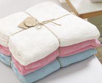 Wholesale Baby Bedding Comforters - Baby Blanket Super Soft Cotton Crochet Summer 120cmX110cm , cotton comforter ,Casual Sleeping Bed Supplies Hole Wrap