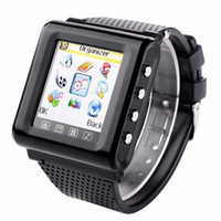 "Wholesale Telephone Unlocked - New GSM AK812 Unlocked smart watch mobile phone 1.44"" Touch Screen support SIM TF FM radio MP3 bluetooth Mobile Watch telephone"