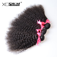 Wholesale cheap remy hair sale - Free Shipping!Wholesale 4Pcs cheap Unprocessed 7A Brazilian Virgin Human Hair Weaves Afro kinky curly on sale Remy Hair Dyeable