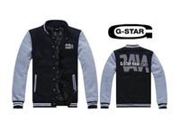 ingrosso marca della stella della giacca-Trasporto libero Nuovo 2017 uomini giacca marchio di moda hip hop G-star uomini giacca a vento cappotto di alta qualità