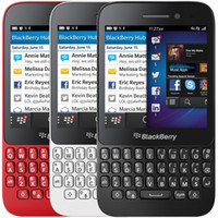 Wholesale Cellphone Q5 - Refurbished Original BlackBerry Q5 Mobile Phone With 3.1Inch IPS Screen 2G RAM 8G ROM 5.0MP Camera Dual Core 4G LTE Qwertykeyboard