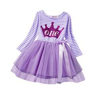 Wholesale Brand Baby Princess Dress - Wholesale- Winter Baby Girl Tutu Princess Dress Baptism Brand Girls Clothes Kids Toddler Clothing For Girl 1st Birthday Outfits