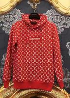Wholesale Long Pullover Sweaters For Women - New G & G logo Red Snake stars tide Luxury brand Hoodies For Men Women Sweater oversized hoodie tracksuit men sweatshirt
