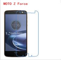 moto x vidrio templado al por mayor-PARA MOTOROLA MOTO M Z Z FORCE Z2 PLAY X Estilo X PLAY X + 1 MOTO C C PLUS 9H Protector de pantalla de cristal templado Premium 2.5D de 200D
