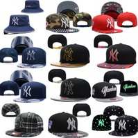 Wholesale Wholesale Sports Logo Hats - New York Yankees Baseball Cap Embroidered Team logo Fitted Cap Sport Fit Hats Colorfull Snapbacks Free Shipping