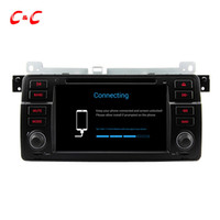 Wholesale Car Radio Bmw E46 Android - Quad Core HD 1024*600 Android 5.1.1 Car DVD Play for BMW E46 with GPS Navigation Radio Wifi Mirror link DVR