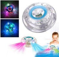 Wholesale Lights For Bath Tub - Bath Led Light Toys Waterproof Funny Bathroom Bathing Tub LED Lights Colorful Toys for Kids Bathtub