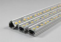 20w regid Lichter Starre Aluminium-LED-Streifen 12V DC 100cm SMD5730 72leds / pc V-Form / U-Form 50pcs LED / lot