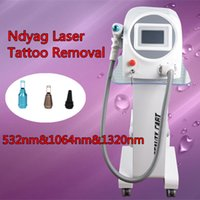 Wholesale Tattoo Removal Light Machine - Best selling portable tattoo removal laser machine q-switch nd yag laser Tattoo Removal Treatmnet Indicator of Aiming Light Available