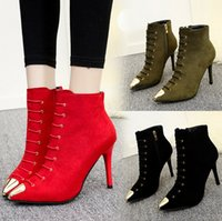 Wholesale Shoes Artificial Flowers - Fashion New Style Sell Casual Women Shoes Artificial PU rubber round head female boots high heel and medium boots -Free Shipping + Free Gift