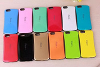 Wholesale Iface 4g - IFACE Case For Iphone 7 I7 6S 6 Plus 4.7 5.5 I6S 4 4G 4S 5 5G 5S 5C Korea Soap Protective Hybrid Soft TPU Hard ShockProof Cell Phone Cover