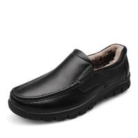 Wholesale Tenis Dresses - Mens Black Leather Formal Shoe For Man Dress Shoes Round Toe Vintage Italian Men Flats Tenis Casual Zapatos