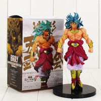 2017 Hot vendita 20 cm Super Saiyan Broly Dragon Ball Z Broli PVC Figure Toy Regali
