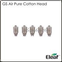 eleaf gs air double atomiseur achat en gros de-Eleaf GS-Air Dual Coil Bobines de rechange GS Air 1.2 Tête d'atomiseur GS Air 100% authentique