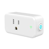 Smart monitor wifi smart plug 10A / 250V presa standard americana smart power plugs Il telecomando wireless funziona con Alexa
