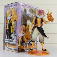 fada, cauda, ação, figuras, pvc venda por atacado-23 cm Fairy Tail Natsu Dragneel Modelo Toy Natsu Dragnir Action Figure PVC Brinquedos Colecionáveis