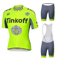 Wholesale Saxo Bank Bicycle Short - 2016 Pro Team Saxo Bank Tinkoff Cycling Jersey Short Sleeve  Cycling Clothing Summer Hombre Bicycle Clothes Ciclismo Maillot
