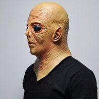 """Wholesale Alien Ufo Extra Mask - Event Party Masks Alien UFO ET Rubber Masks Movie """"Extra Terrestrial"""" Cosplay Latex Props Scary Halloween Party Mask for Kids Toys"""