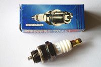 Wholesale Engine Saw - 10X Spark plug L7T for 2 stroke engine replace NGK BPMR7A Champion RCJ6Y RCJ7Y WSR5F Free postage cheap saw trimmer parts
