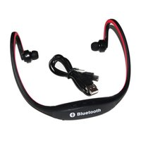Wholesale A2dp Bluetooth Stereo Headset - S9 Rear-mounted The headset Headband Sport Bluetooth Wireless Headphone A2DP Music Player Calls Hands-free Calling Campaign MP3