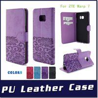 Wholesale Google Mobile Wallet - Wallet case For Google Pixel XL For ZTE Warp 7 N9519 ZTE Avid Trio Z831 metropcs For LG V20 Flip leather stand mobile