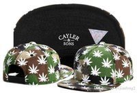 Wholesale Cheap Grass - Cheap Cayler & Sons snapbacks Outwear Color Green Grasses snapback caps hats sport caps For man and woman