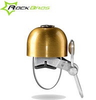 Wholesale Retro Handlebars Bicycle - Wholesale-RockBros Retro Bike Cycling Handlebar Bell Ring Vintage Bicycle Bell Horn