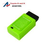 Wholesale Toyota G Chip Key - New Arrival Toyota G and H for Toyota H Chip Vehicle OBD Remote Key Programmer For Toyota G obd Programmer Free Shipping