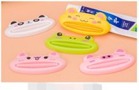 Wholesale Toothpaste Squeezer Machine - Creative cartoon animal automatic toothpaste squeezing toothpaste squeezer machine cosmetics squeezing convenient bathroom set TT219