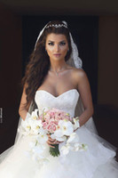 Wholesale Wedding Dresses Ball Gown Dhgate - Ball Gown Spring 2017 Saudi Arabia Wedding Dresses Long Women Full Lace Style Wedding Gowns Fast Shippping DHgate Tulle Wed Dress