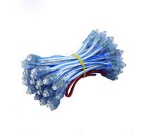 módulo ul al por mayor-Cadena de luz expuesta de LED 9 mm Palabra luminosa expuesta 12 V de irrigación Cadena de luz impermeable Módulo de luz de píxeles LED