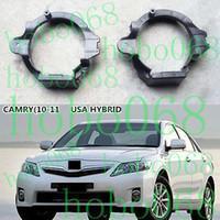 Wholesale Camry Fog Lamp - 2x lot For Toyota Camry HYBRID 09-11 Car Front Fog Light Bracket LH&RH Support Lamp diy